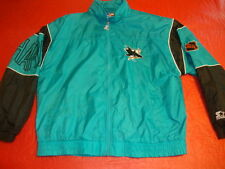 NHL Hockey San Jose Sharks vintage deadstock Starter Windbreaker Jacket XL