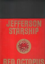JEFFERSON STARSHIP - red octopus LP