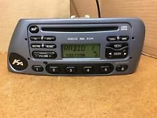 Ford Ka 6000cd  Rds Cd player car radio Stereo + Code In Metallic Blue Colour
