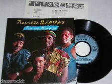"7"" - Neville Brothers / Fire and Brimstone - 1989 PROMO MINT # 2750"