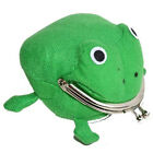 Frog Wallet Anime Cartoon Wallet Coin Purse Manga Flannel Cosplay Wallet HOT
