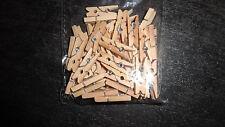 50 kleine Wäscheklammern Holzklammern Miniholzklammern Wäscheklammern 2,5 cm
