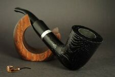 HAND MADE Wooden  SMOKING PIPE  OAK TREE   Black colour      UNIQUE PIPE
