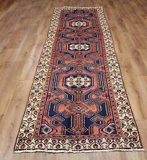 Persian Traditional Vintage Wool 295cmX88cm Oriental Rug Handmade Carpet Rugs
