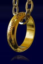 IL SIGNORE DEGLI ANELLI ANELLO THE ONE RING LO HOBBIT LORD OF THE RINGS COSPLAY
