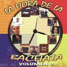 Hora De La Bachata 3 Various Artists MUSIC CD