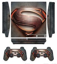 258 Skin Sticker Cover for PS3 PlayStation 3 Slim and 2 controller skins