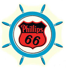 Phillips 66  Gas Station  Vintage-1950's Style Travel Decal  Sticker