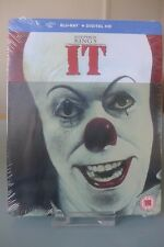 Blu ray steelbook IT Stephen King U.K Zavvi exclusive New & Sealed Neuf avec VF