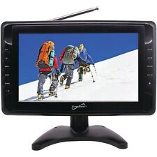 "SuperSonic SC-2810 10"" Portable LCD Television w/Built In Speakers"