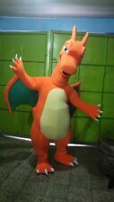 CHARIZARD POKEMON CHARACTER FIRE DRAGON MASCOT COSTUME ADULT SIZE HIGH QUALITY