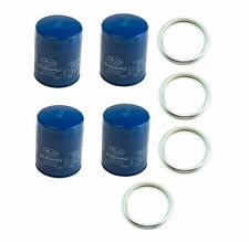 OEM Engine Oil Filter & Gasket 15208AA15A Geniuine 4 PACK fits Subaru Legacy