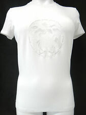 VERSACE Top 44/US8-10 iconic print MEDUSA special edition Italy elastic new