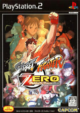 Used PS2 Street Fighter Zero  Fighters Generation  SONY PLAYSTATION JAPAN IMPORT