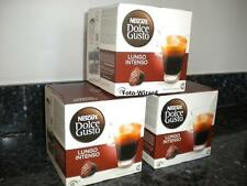NESCAFE DOLCE GUSTO 48 LUNGO INTENSO PODS NEW COFFEE FREE P&P 3 BOXES X 16