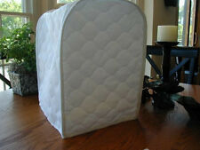 White Appliance Cover fits Kitchen Aid Mixers Cotton Blend, Solid and Whites
