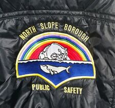 North Slope Borough Public Safety King Louie Pro Fit Police Jacket XL Vintage