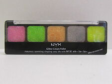 NYX Glitter Cream Palette color GCP03 Utopia Brand New & Sealed