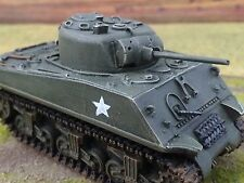 1/56 28mm DPS painted WW2 Bolt Action Allied USA M4A4 Sherman75 Battle Tank T120