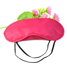 20Pcs Rose red Soft Sleep Eye mask Polyester Sleep Masks For Travel Sleeping Aid