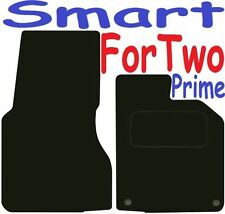 Qualità Su Misura Deluxe Tappetini auto Smart Fortwo PRIME 2015-2017 ** NERO **