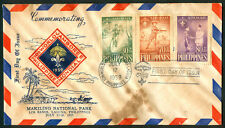 1959 Philippines Commemorating 10th World Jamboree First Day Cover A
