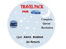 Al Quran CD-MP3 -Qari -Abdulrahaman As Sudais (it Works Only On  MP3 Players)