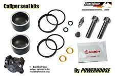 Aprilia Brembo P32 G rear brake caliper piston & seal repair rebuild kit set