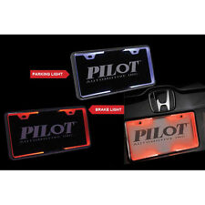 Pilot WL704-RW LED License Plate Frame White and Red LEDs