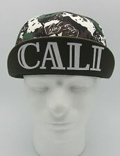 CALI CYCLING Snapback Cap Hat CA California Republic Bicycle Bike Beanie NWT