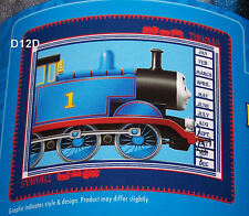 Thomas The Tank Boys Blue Printed Polar Fleece Throw Rug Blanket New