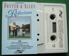 Foster & Allen Reflections inc True Love & Annie's Song + Cassette Tape - TESTED
