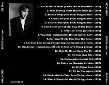 "BRYAN FERRY (Roxy Music)  ""Rarities 1974-1999""   (18 tracks)"