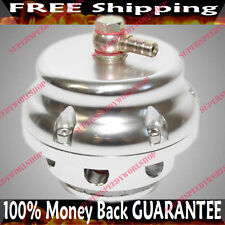 SILVER UNIVERSAL 50MM EMUSA Blow off Valve BOV fits Nissan Toyota Honda Acura