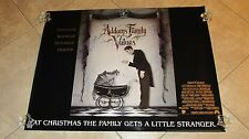 ADDAMS FAMILY VALUES movie poster LURCH the BUTLER original UK quad poster