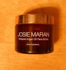 1.7FLoz JOSIE MARAN WHIPPED ARGAN OIL FOR FACE BUTTER unscented UNSEALED flawed
