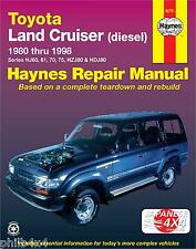 TOYOTA LANDCRUISER **NEW HAYNES MANUAL** 1980-1998 HJ60, HJ70, HJ75, HDJ80
