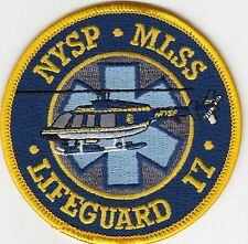 NYSP MLSS LIFEGUARD 17 NEW YORK STATE POLICE PATCH NY HELO