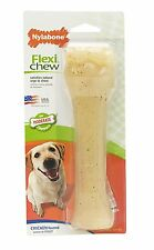 Nylabone Flexi Chew Dental Bone Dog Toy Chicken Flavored Souper
