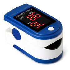 Portable Pulse Oximeter Pulse Oxygen Saturation Pulse Rate Tester LED Display Ho