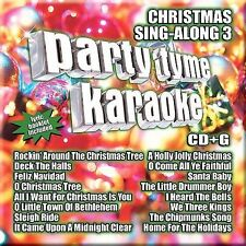Party Tyme Karaoke - Christmas Sing-Along 3 16-song CD+G