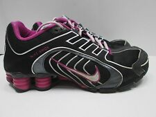 Women's Nike Shox Size 7.5 Pink/Purple And Black