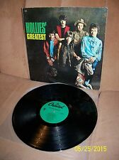 THE HOLLIES Greatest 1980 Capitol MONO LP N-16056 EXC/EXC+