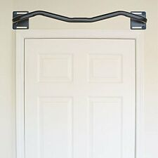 Mounted Pull Up Bar Above Door Way Frame Home Gym Work Out Exercise Equipment