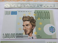 NEW 1 million Euro Football bill soccer note Footie gift Birthday present EPIC
