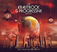 KRAUTROCK & PROGRESSIVE (AA.VV.) BOX SET 6 CD NEW .cp