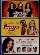 BRAND NEW TRIPLE FEATURE DVD // CHARLIES ANGELS, MY BEST FRIENDS GIRL, SWEETEST