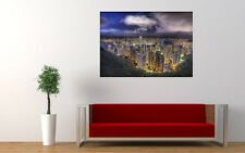 HONG KONG THE PEAK VIEW NEW GIANT LARGE ART PRINT POSTER PICTURE WALL