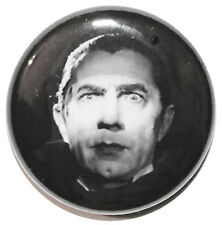 "1"" (25mm) Dracula 1931 Horror Movie Button Badge Pin - High Quality"