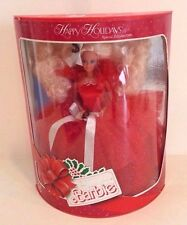 1988 Happy Holidays Barbie Limited Edition Mattel Toy Doll in Box #2